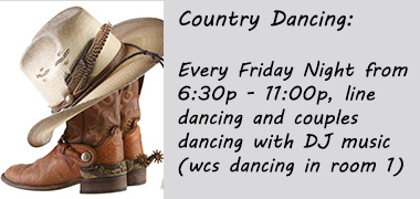 Country Dancing on Friday Nights
