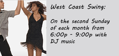 West Coast Swing Dance on the Second Sunday