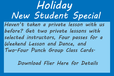 Holiday New Student Special