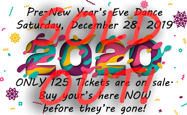 2020 Pre-New Years Eve Dance