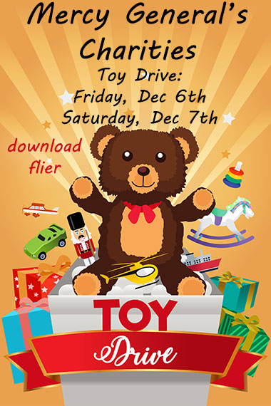 Mercy General Charities Toy Drive